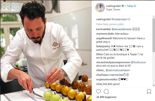 Superstar pastry chef creates Instagram frenzy