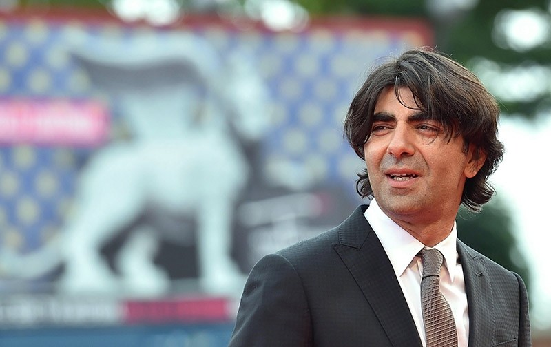 Turkish-German director Fatih Aku0131n arrives for the premiere of 'The Cut' during the 71st annual Venice International Film Festival, in Venice, Italy, 31 August 2014. (EPA Photo)