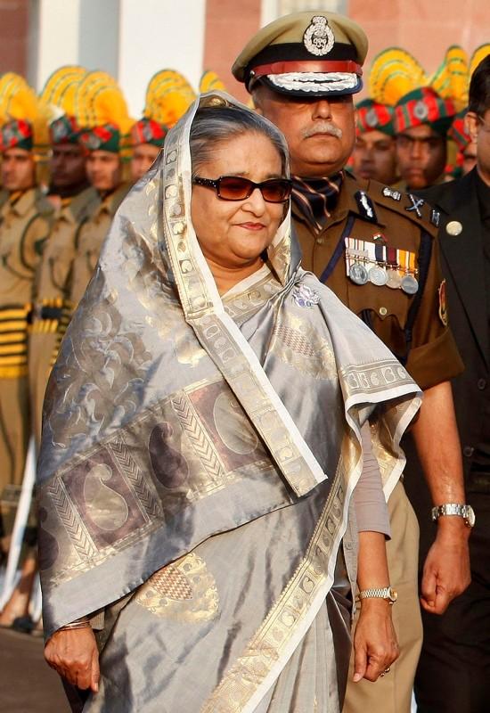 Bangladeshi Prime Minister Sheikh Hasina. (AP Photo)