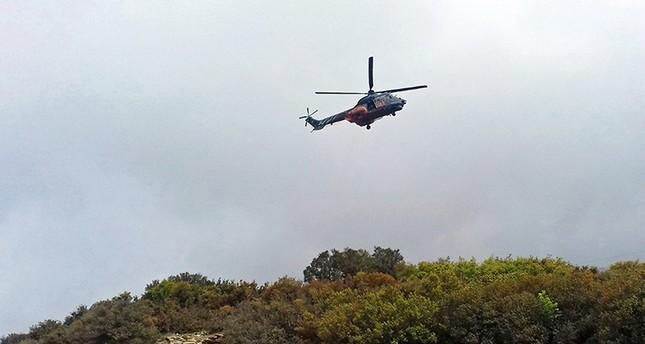 مصرع 4 ضباط في تحطم مروحية في اليونان