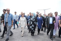 Turkey's first lady arrives in Bangladesh to visit Rohingya refugee camp