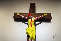 Israeli museum to remove 'McJesus' sculpture after backlash from Arab Christians, Muslims
