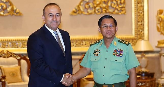 جاووش أوغلو: مستعدون للتعاون مع ميانمار لتحسين أوضاع الروهينغيا