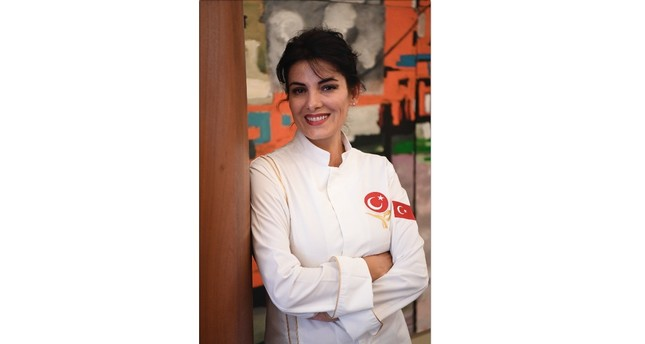 Ebru Omurcalı's passion for food comes from her large family who loves hosting huge dinner parties.