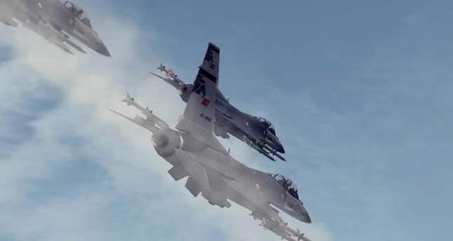 مقاتلات تركية تدمر 5 أهداف لمنظمة بي كا كا الإرهابية شمالي العراق