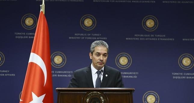الخارجية التركية توصي سفراء بعض الدول بالتزام حدودهم
