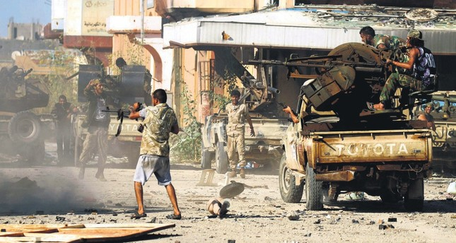 Factions fight after Libya descended into chaos following the ouster and subsequent killing of Muammar Gadhafi in 2011.