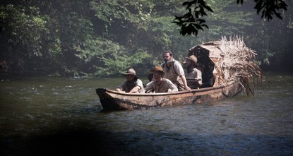 Mud rising to levels of two feet bedevilled the filming of The Lost City Of Z, a true-life drama about British explorer Colonel Percival Fawcett, who disappeared in the Amazon in the 1920s while...