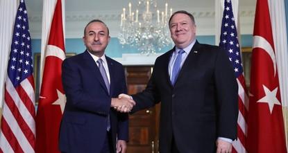 FM Çavuşoğlu discusses S-400 issue with US counterpart