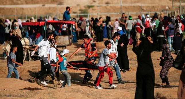 فلسطينيات يتوافدن إلى الحدود الشرقية لغزة للمطالبة بالعودة وكسر الحصار