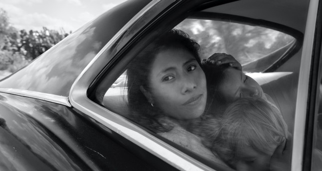 This image released by Netflix shows Yalitza Aparicio in a scene from the film Roma, by filmmaker Alfonso Cuaron.