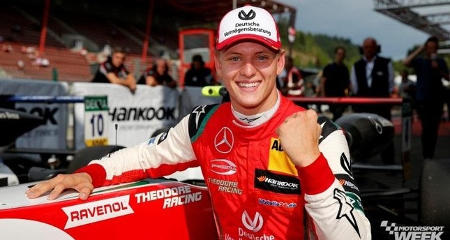 A top-two finish in the final F3 standings would see Mick Schumacher qualify for a FIA ''super licence,'' a prerequisite for the jump to F1.