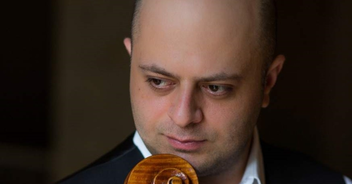 The Yerivan-born cellist has won awards from major competitions like Tchaikovsky. (Courtesy of Istanbul Recitals)