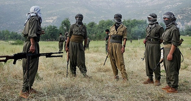 PKK terrorists File photo