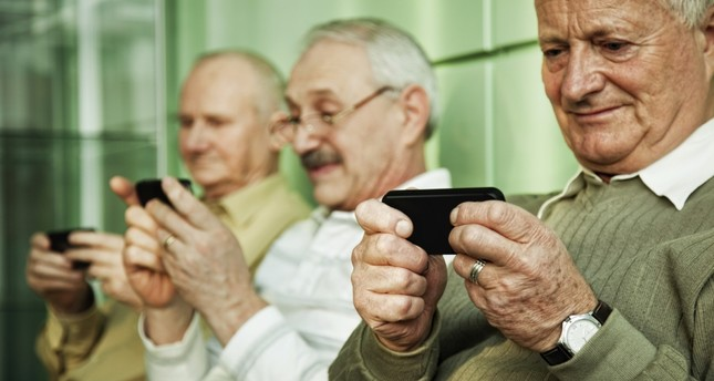 Smartphones and apps allow senior citizens to keep their minds active, closing the generation gap in the process.