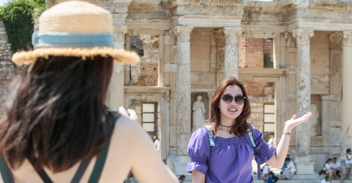 According to the Ministry of Culture and Tourism, 394,000 Chinese tourists came to Turkey in 2018, a 59 percent increase.
