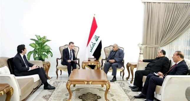 Iraqi PM Abdul-Mahdi, Turkish envoy discuss bilateral ties in Baghdad
