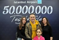 Istanbul Airport welcomes 50 millionth passenger