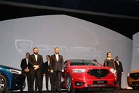 Northern Cyprus unveils first domestically produced car Günsel