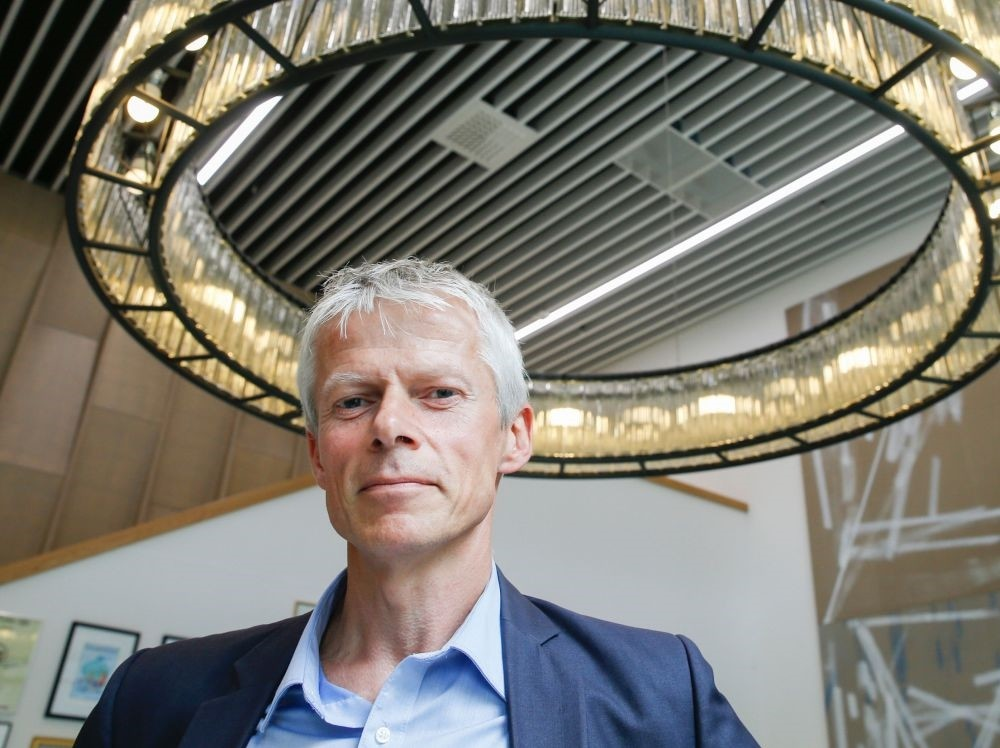 The head of the Norwegian Tax Administration, Hans Christian Holte, at the Norwegian Tax Administration.