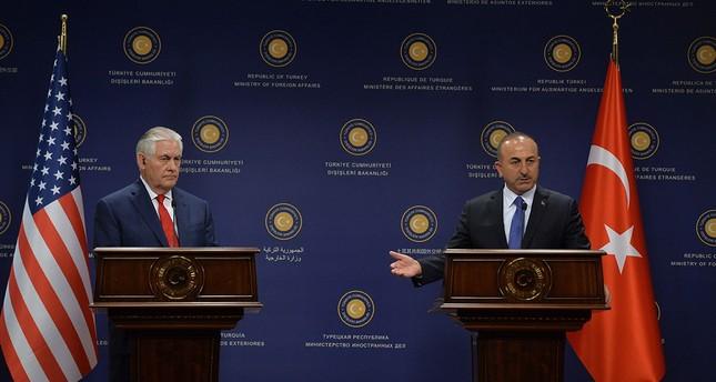 Çavuşoğlu spricht mit Tillerson über Visa-Krise