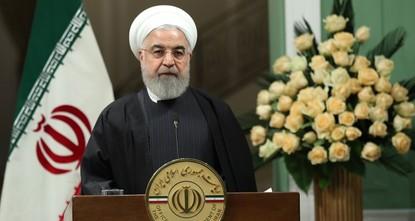 روحاني يطالب بمحكمة خاصة للمسؤولين عن تحطم الطائرة الأوكرانية