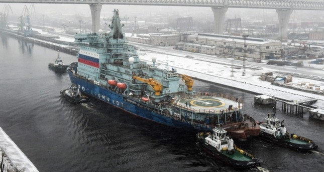 World's largest nuclear-powered icebreaker completes test run in Russia