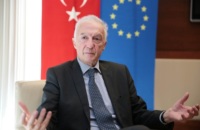 Gilles de Kerchove said it was a good sign that the EU and Turkey want to deepen cooperation.