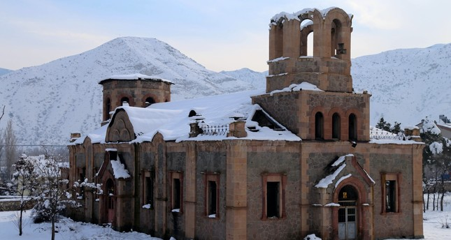 Historic Russian church in Turkey's Erzurum to be restored