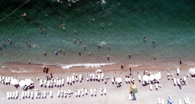 أنطاليا التركية الأولى عالمياً بعدد شواطئ الراية الزرقاء