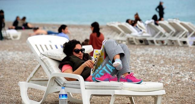 أنطاليا تستقبل 1.2 مليون سائح معظمهم من ألمانيا وروسيا منذ بداية العام