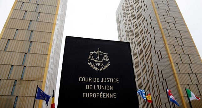 The towers of the European Court of Justice are seen in Luxembourg, Jan. 26, 2017. (Reuters Photo)