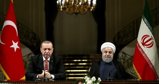 Эрдоган и Рухани провели телефонный разговор по Сирии