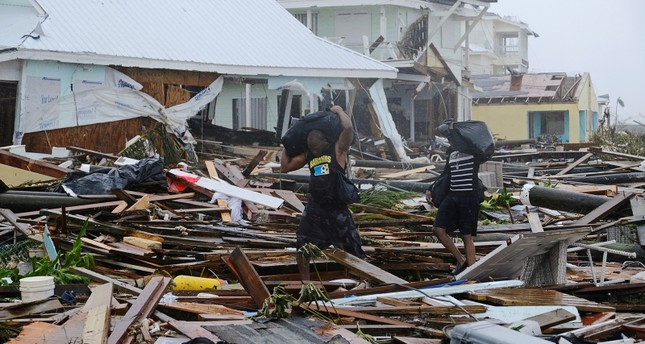 Damage in the aftermath of Hurricane Dorian on the Great Abaco island town of Marsh Harbour, Bahamas, September 2, 2019. Reuters Photo