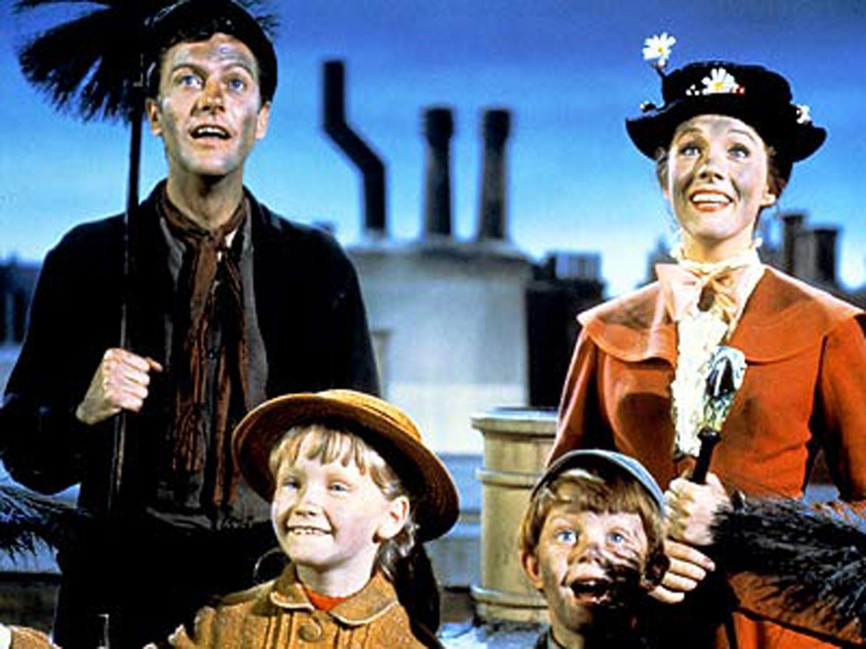 A still from the original 1964 film  u201cMary Poppins.u201d