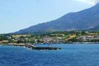 Hundreds of tourists stranded on Greece's Aegean island of Samothraki