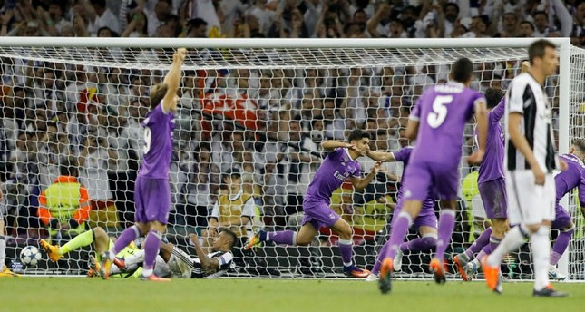 Ronaldo brace lifts Real Madrid 4-1 past Juventus in historic Chanpions League title defense
