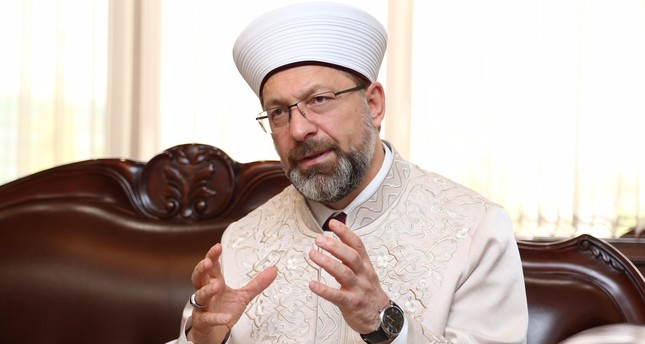 President of Religious Affairs Ali Erbaş: The West's record on freedom of belief and worship is poor