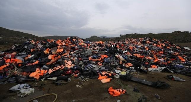 اليونان تعيد 10 لاجئين سوريين إلى تركيا في إطار اتفاقية إعادة القبول