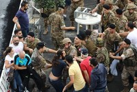 Rallies turn violent in Lebanon amid clashes between army, protesters