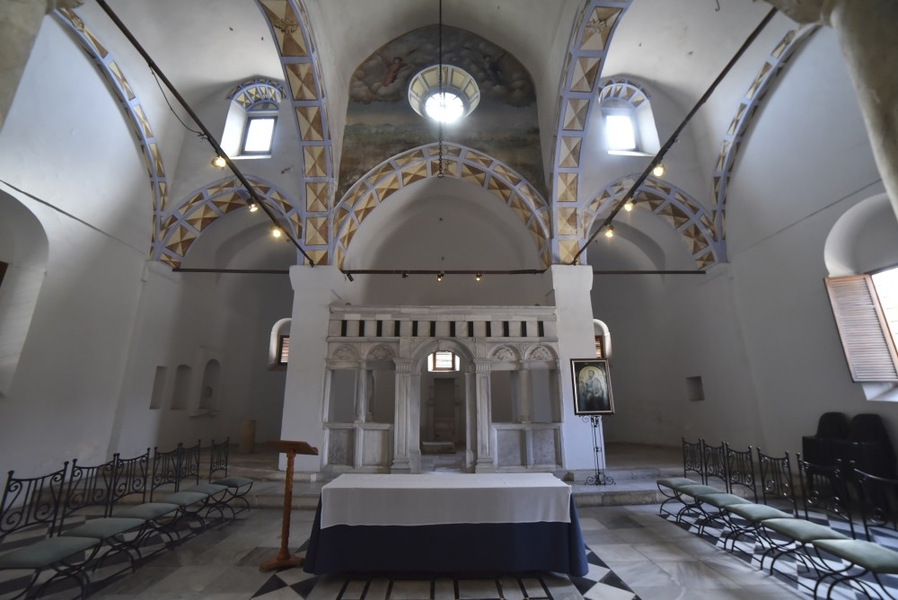 The historical church, which is visited by Christians every year, stands out as one of the important centers of religious tourism in Mersin.