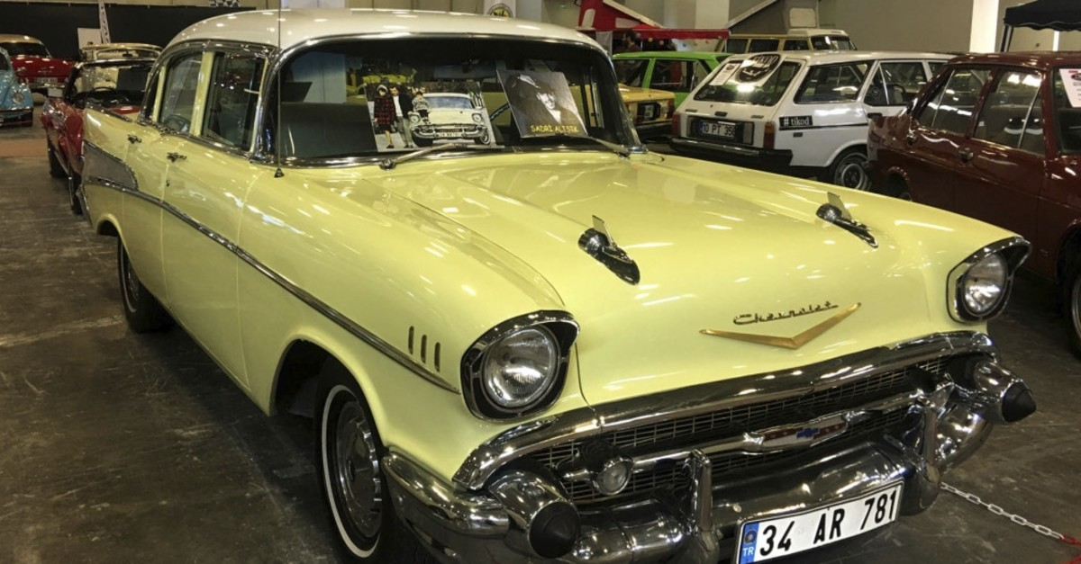 1957 Chevrolet Belair that belonged to late actor Sadri Alu0131u015fu0131k.