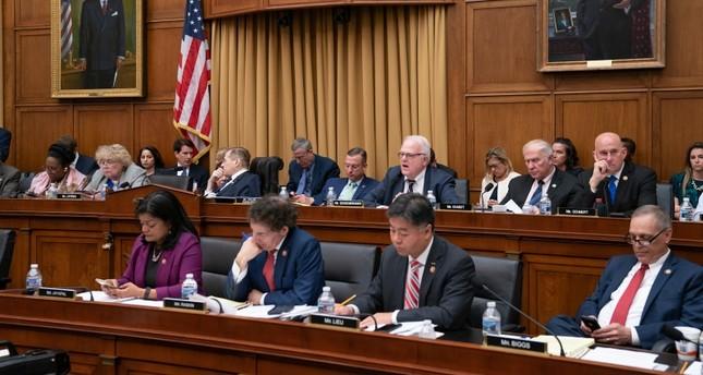 الكونغرس الأمريكي في جلسته أمس (AP)