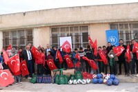 Syrian children return to schools in areas liberated by Operation Peace Spring