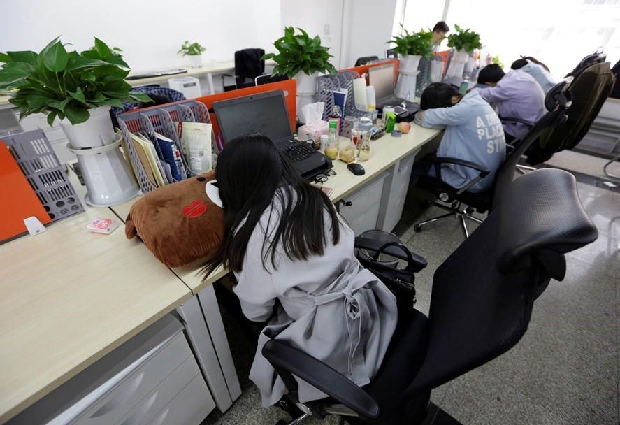 Japanese firms encourage workers to take nap breaks to fight ...