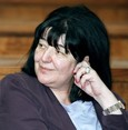 Widow of Serbian strongman Milosevic dies in Russia, report says