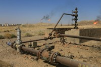 Iraq's oil minister announced on Wednesday negotiations with Turkey over exports of oil drilled from Kirkuk through the port of Ceyhan, on Turkey's eastern Mediterranean coast.