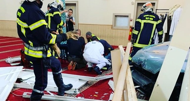 Car rams into mosque in eastern France
