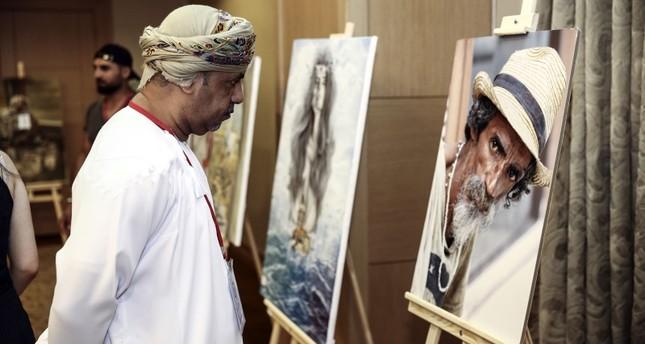 فنانون من 17 دولة عربية يشاركون في معرض للفنون التشكيلية بإسطنبول