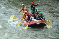 Rafting tours resume on flood-stricken Melen River